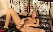 Roxy Carter hot babe masturbating with a toy