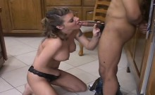 Bitch is drilled in rectal hole after giving nice blow