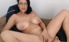 Big Tit MILF Teases on Webcam