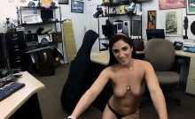 Babe pawns her Cello and fucked by pawn guy to earn cash