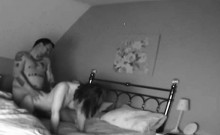 bedroom spy tape of my mom and her lover