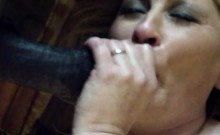 Mature and married Mrs Thompson taking a huge BBC