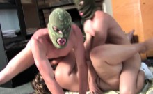Kinky matures gangbanged by younger guys