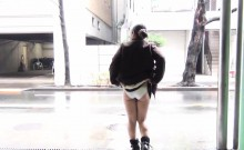 Horny asians flash undies