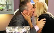 Smoking hot blonde milf Alexis Fawx riding lucky guys cock