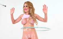 Curvy babe Skyla Novea takes a banging