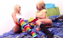 Jessy Key And Laureen Pink Enjoy Lesbian Action