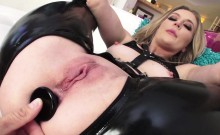 Naughty Mona Wales pussy and anal fucked