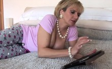 Unfaithful Uk Milf Lady Sonia Pops Out Her Big Boobs