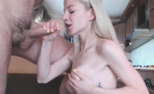 Blonde 18yo Loves That Hard Dick