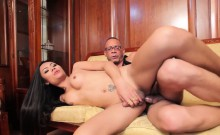 Ladyboy Assfucked After Sucking Dick