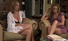 Blonde Milf And Les Teen
