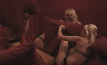 Chicks enjoy having group action in reality show