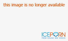 Hot brunette has big boobs