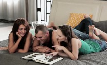 Babes - Alexis Brill and Nataly Von and Anton