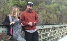 Ruski outdoor amateur blowjob