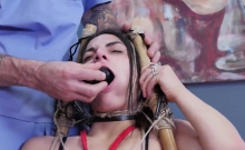 Horny kitten is taken in anal madhouse for uninhibited thera
