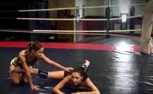 Wrestling Lesbians Giving Nude Interviews