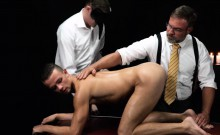 Smooth Athletic Bottom Used In Secret Sex Ceremony