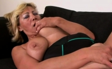 Hot Blonde Milf Gets Blacked By Big Cock
