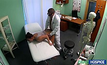 MILF Valentina sexual affair with doctor