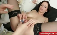 Big natural tits Milf Sabrina weird doctor visit