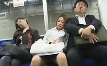 Sexy Japanese Office Worker Gets Fucked