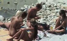 Amateur Beach Couples