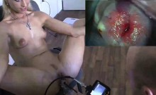 CZasting - Smoking hot blonde with slim body