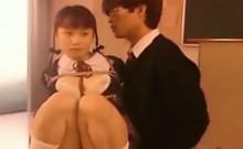 Asian Schoolgirl Bondage