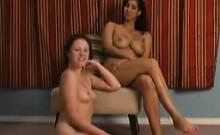 Lesbian Slave Licks And Sucks Mistress