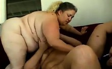 Large Lesbian Sluts With Toys In A Threesome
