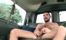 Skinny gay humping big fat cock in boys bus