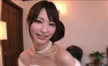 Petite Japanese gets to be pleasured