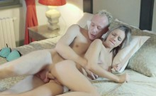 Petite Tracy Blonde Bombshell Fucks Older Big CockMan