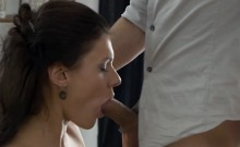 Slutty Chick Receives Anal And Jizz From Her Lawyer