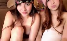 Webcam Teens Have A Slumber Party