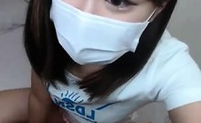 Japanese girl cam that is nice show