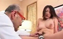 Japanese Mom does father- in-law and son