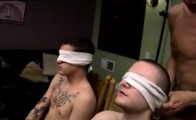 Gay public piss movie Blindfolded-Made To Piss & Fuck!