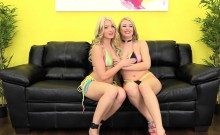 Blonde Babes Natalia and Anikka Are a Perfect Pair