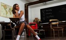 Twistys - Study Hall Slut - August Ames