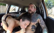 Cali girl Cassidy Klein secretly fucked by another examinee