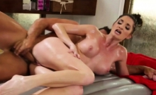 Delicious pussy massaged with cock