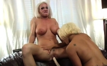 Sexy domina loves licking other pussies for joy
