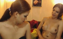 Horny Pretty Shemale Gets A Wild Anal Banging