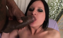 Beautiful girl gets her pussy pounded hard