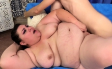 Chubby Girl Shows Off Her Juicy Tits And Plum Pussy And