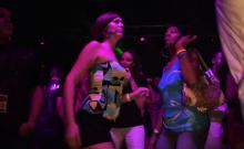 Sexy chicks like to dance dirty