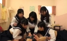 Asian japanese group sex boobs